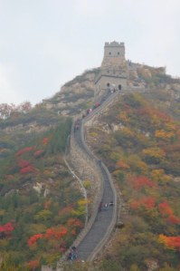 At the base of The Great Wall