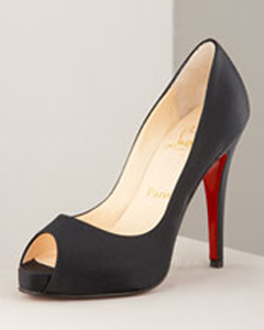 Christian Louboutin Peep Toe Pump
