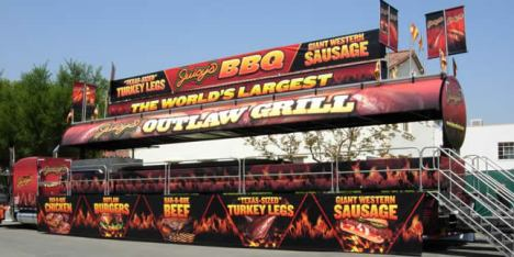 This place cranks out a lot of BBQ